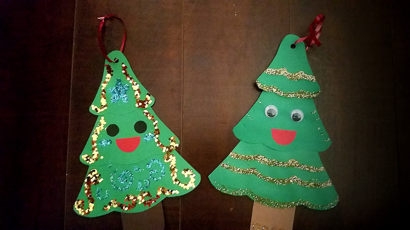 Decorate X-mas Tree Craft