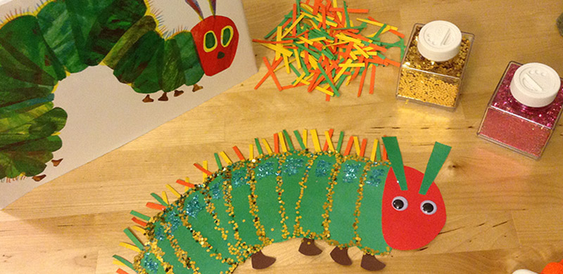 Hungry Caterpillar Butterfly Craft