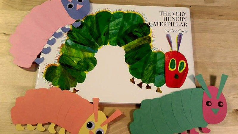 Eric Carle Butterfly Template