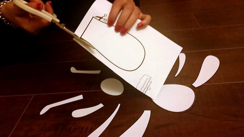 Cut Floppy the Bunny Craft Template