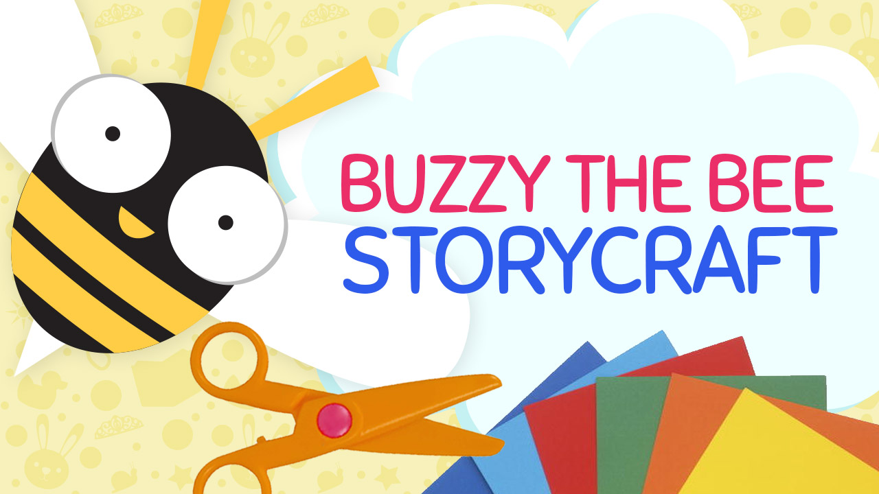 Buzzy the Bee Craft Template | Kids Crafts | Crafty Pammy