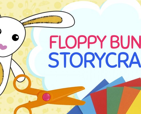 Floppy the Bunny Craft | Paper Crafts for Children | Crafty Pammy