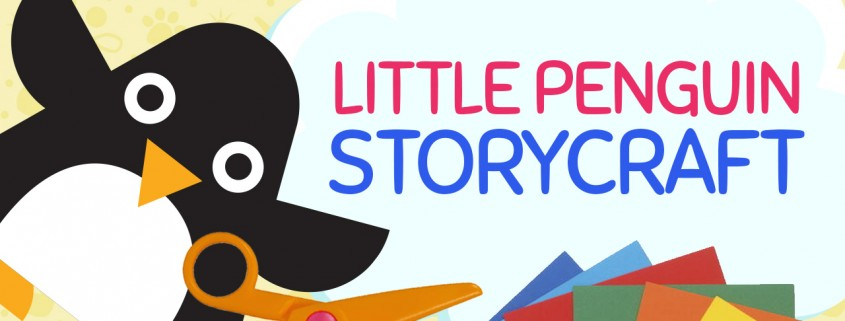 Create a simple Little Penguin Craft at craftypammy.com, inspired by the picture book: I Am Small by Emma Dodd