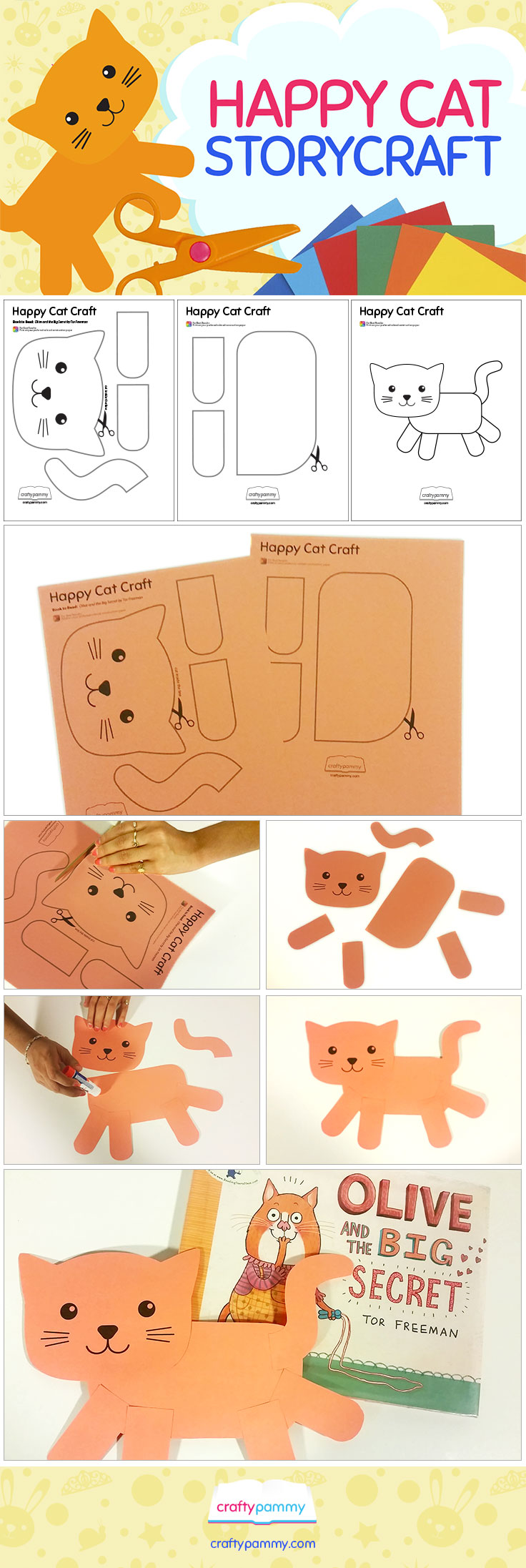 Create a Happy Cat Craft