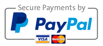 Secure Payments by PayPal - Visa - MasterCard