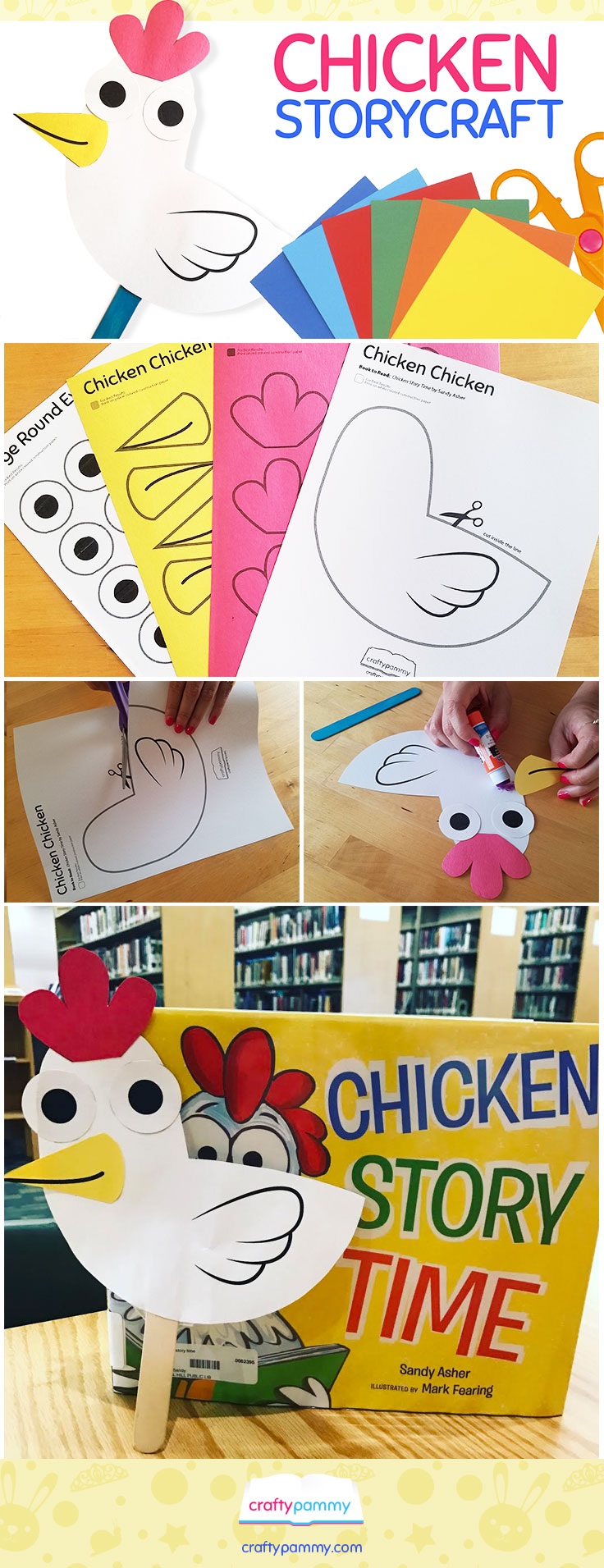 Chicken Storytime Story Craft