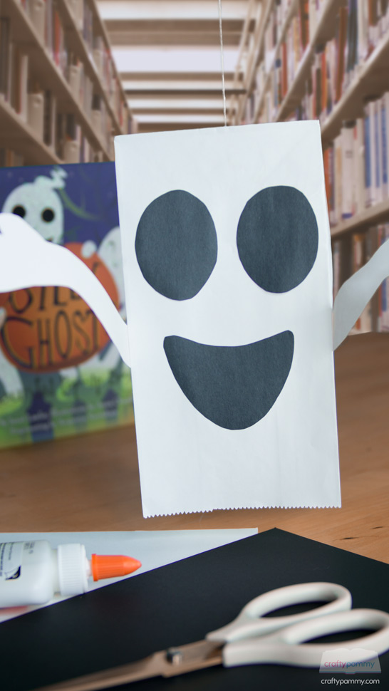 Ghost Paper Bag Storycraft by CraftyPammy