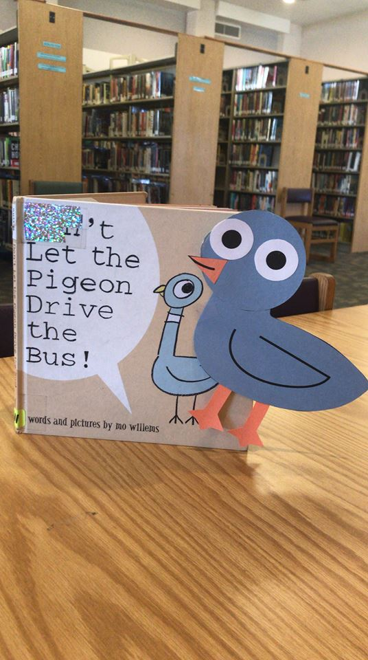 Pigeon Craft Photo Storytime at The Library